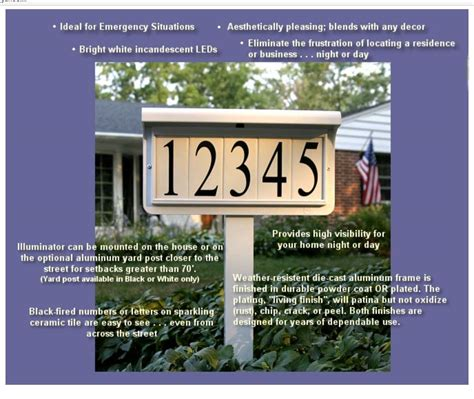 what holds up a solar house reflective house number yard signs mayne woodhaven address sign post in black5812b at the home