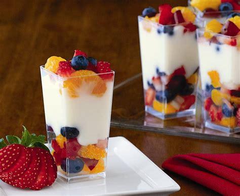 fruit parfait fruity parfaits