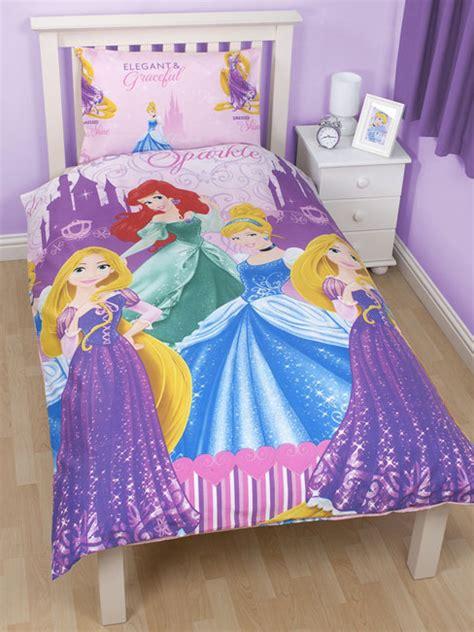 Disney Princess Duvet Set disney princess sparkle single rotary duvet cover set