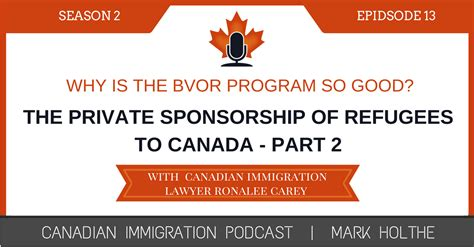 The Private Sponsorship Of Refugees To Canada Part 2 Canadian Immigration Podcast Podcast Sponsorship Template