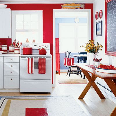 red kitchen with white cabinets red and white kitchen ideas home trendy