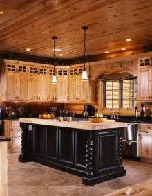 Nice contrast with the hickory cabinets in the veras cozy kitchen