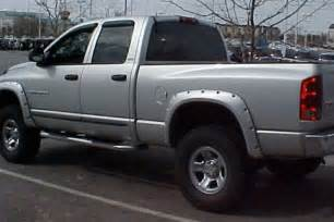 bushwacker 174 dodge ram 2003 pocket style fender flares