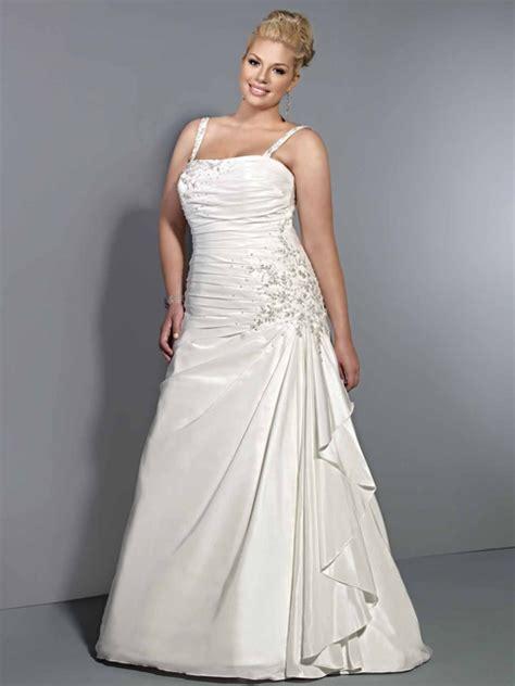 imagenes vestidos de novia tallas grandes vestido de novia plisado linea a para gorditas