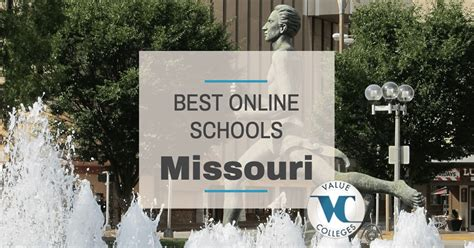 Md Mba Programs Missouri by Top 10 Best Colleges In Missouri Value Colleges