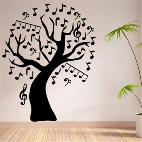 como decorar musica em ingles vinilo decorativo 193 rbol de notas musicales