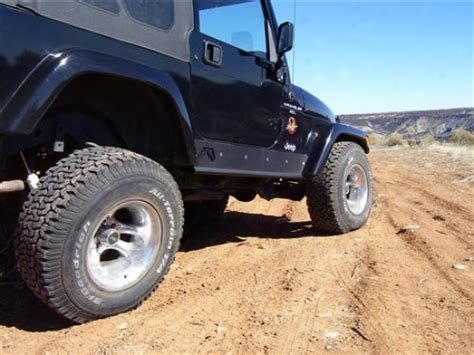 Jeep Tj Rock Sliders Jeep Tj Rock Sliders Without By Fab Fours The Your