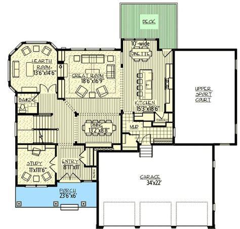 catit design home 3 story hideaway home floor plans with indoor sport court