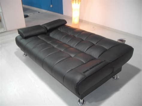 cheap futons san diego 2pcs modern leatherette futon sofa bed set item 3510 ebay
