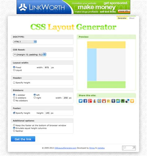 layout css code 15 mostly css code generators to make your life easier
