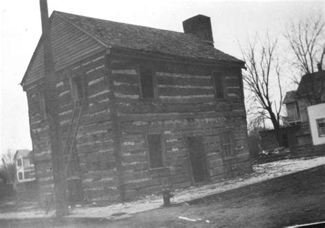 Franklin County Mo Court Records Court Was Originally Held In Ambrose Ransom S Large Log House