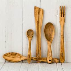 dubost olive wood cooking utensils