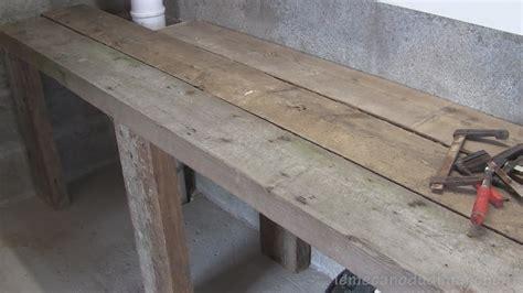 Construction Etabli En Bois 4805 by Brico 06 Construire Un 233 Tabli 2 Sur 2