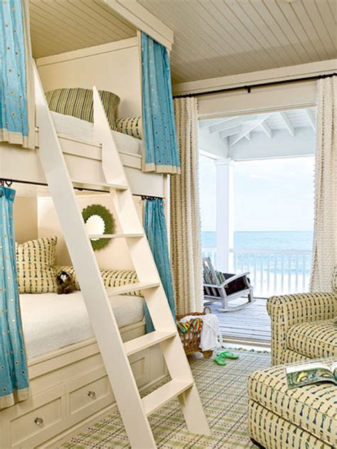 house bunk bed woodwork built in bunk beds beach house pdf plans