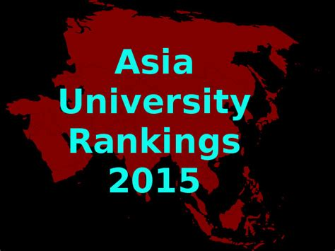 Asia Mba Ranking 2015 by Top 10 Universities In Asia 2015 Careerindia