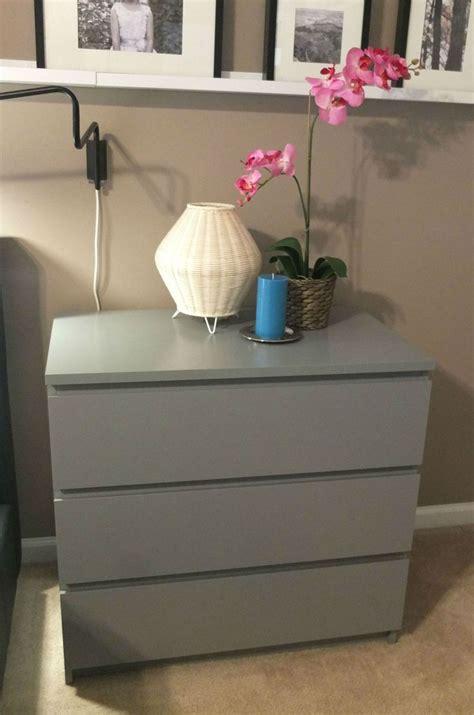 ikea malm grey dresser bedroom minimalist grey wooden ikea malm bed hardware for