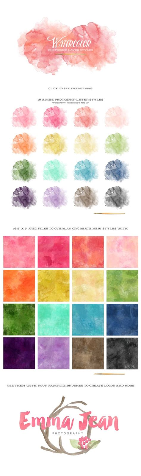 hairstyles watercolor watercolor photoshop layer styles layer styles on