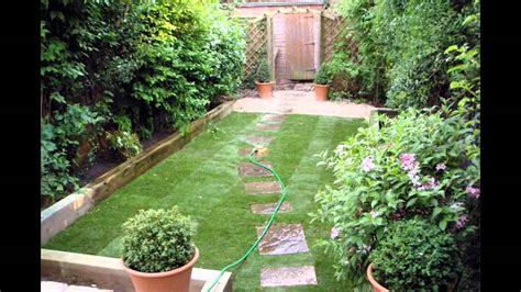 Small Backyard Landscaping Ideas On A Budget The Garden Design Small Garden Ideas