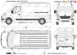 Renault Master Pdf The Blueprints Vector Drawing Renault Master L2h2 Fwd