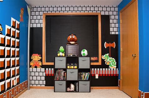 mario themed room mario bros themed room 90kids childhood nostalgia