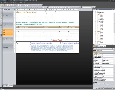 Report Template For Visual Studio 2008 Fastreport Net Berichtgenerator Fast Reports Inc
