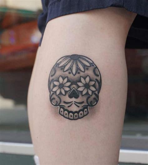 small sugar skull tattoo sugar skull designs skull meaning