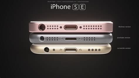 iPhone SE concept by Martin Hajek: here is what Apple's