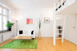 minimalist small apartment interior design in swedish 2