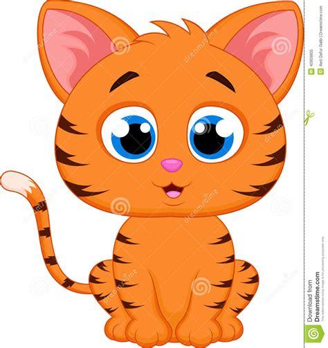 cat characters cat stock vector illustration of feline 40959805