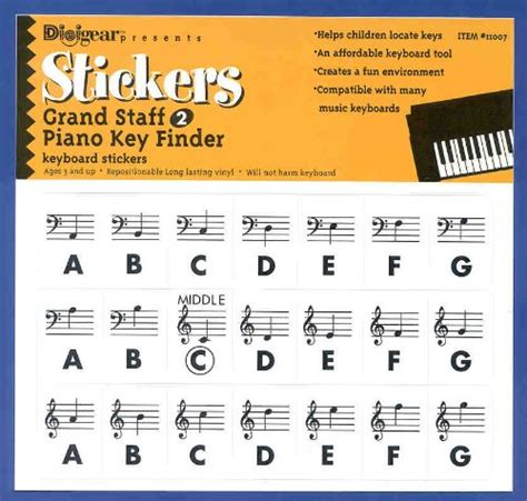 printable piano keyboard stickers top gs2 piano key finder stickers grand staff 2 piano