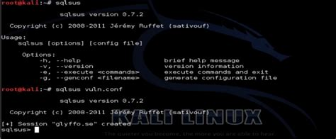 webscarab tutorial kali linux tutorial sqlsus para kali linux