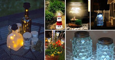 diy home lighting design 28 cheap easy diy solar light projects for home garden balcony garden web
