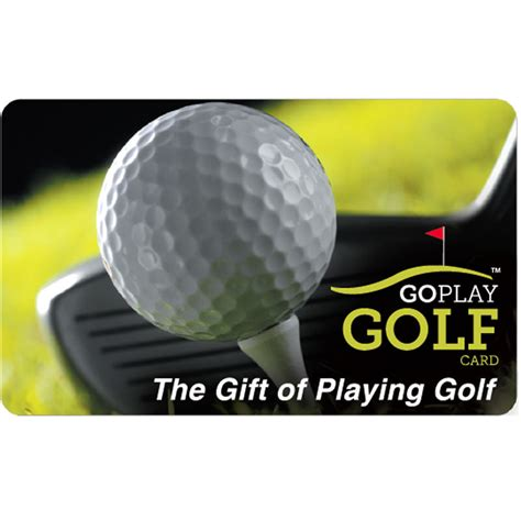 Golf Gift Cards - go play golf gift card 25 50 or 100 email delivery ebay