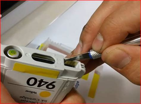 Resetting Hp Officejet Pro 8000   refillable ink cartridge for hp officejet pro 8000 8500