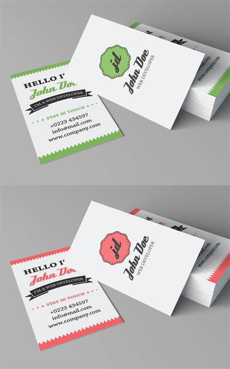 free template for personal business cards free business cards psd templates mockups freebies