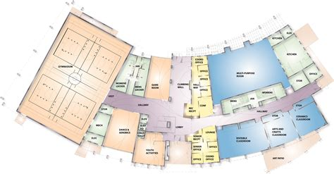recreation center floor plan apache junction multigenerational recreation center