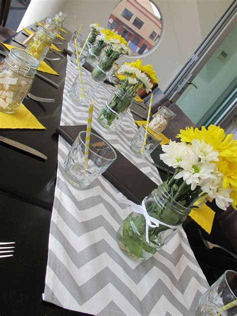yellow and gray baby shower centerpieces 25 best ideas about yellow baby showers on yellow punch for baby shower yellow