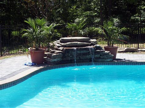 Waterfalls For Pools Inground | inground pool waterfalls pool pinterest