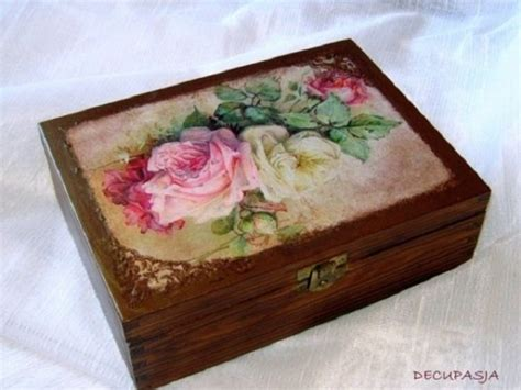 decoupage box decoupage tea box decoupage ideas