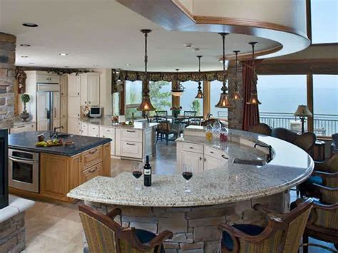 circular kitchen island 1000 ideas about curved kitchen island on