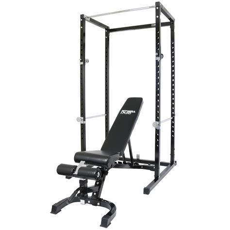 weight bench with pull up bar mirafit power cage squat rack pull up bar with