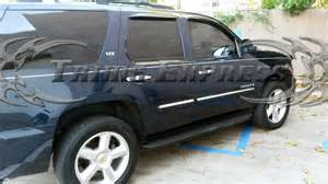 2007 2009 5 chevy tahoe 4pc chrome side molding trim overlay top 1 quot ebay
