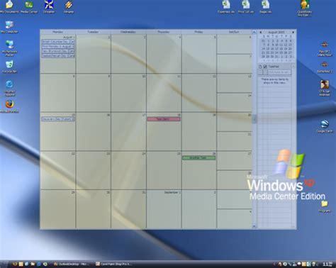 Calendar Desktop App Windows 7 Windows 7 Desktop Calendar App Calendar Template 2016