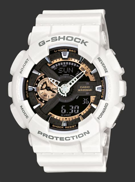 Gshock Ga 110rg by Classic Ga 110rg 7aer Wei 223 Casio G Shock Uhren