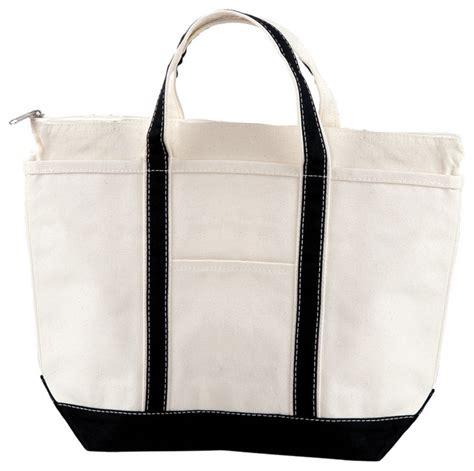 heavy duty canvas boat bags nwt black medium heavy duty cotton canvas bag boat tote