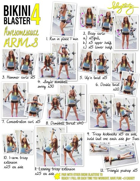 arm exercises with free weights