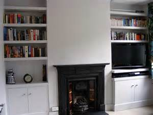 Alcove Bookshelves Built In Cabinet And Shelves In Alcove Carpentry