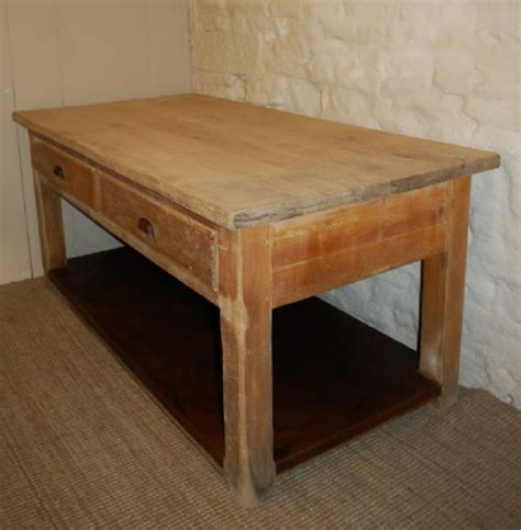 antique kitchen island table antique pine kitchen table island table baker s table