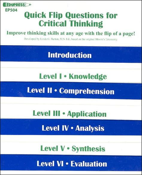 is criticalthinking in critical condition how questions quick flip questions for critical thinking 015990