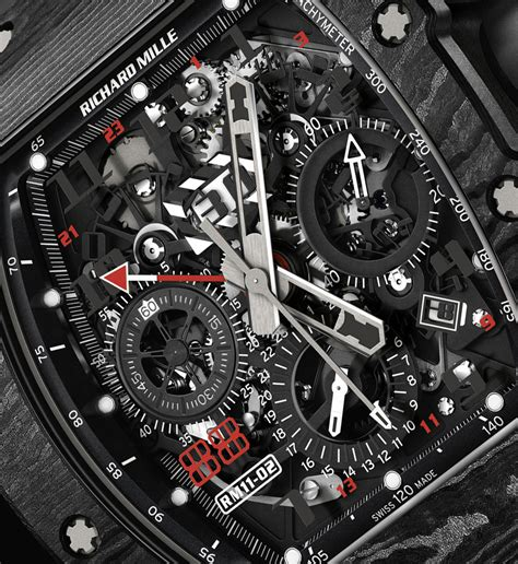 Ntpt Carbon Limited Edition Movement Custom Modified Swiss 7750 F 1 the review of the richard mille rm 11 02 automatic flyblack chronograph dual time zone jet black